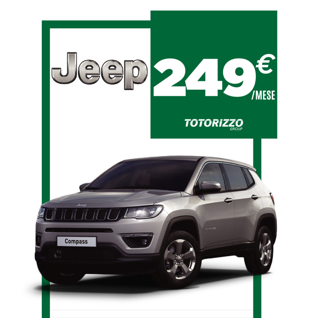 Promo Jeep Compass - Totorizzo Group